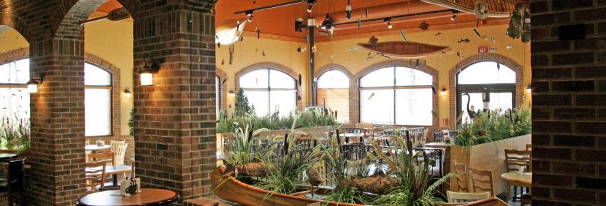 Inside of Wegman's Cafe area