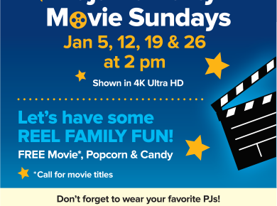 Pajama Party Sunday Movies