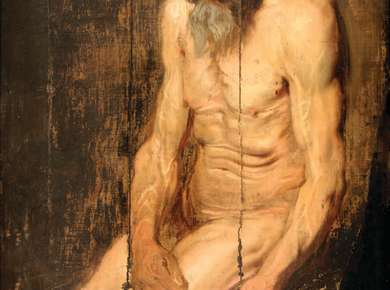 'An Orphan No More': Recently Discovered Oil Sketch by Anthony Van Dyck