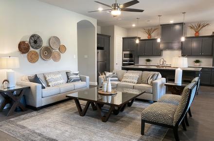 Boho Cowboy House Living Room