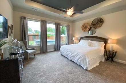 Boho Cowboy House Owner's Suite