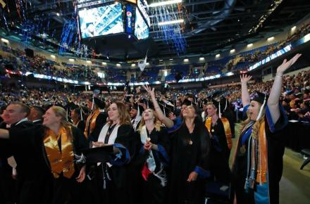 Commencement Ceremony at College Park Center