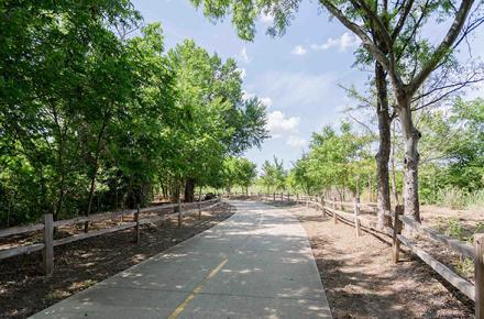 Dr. Robert Cluck Linear Park