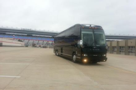 Texas Motor Speedway Entertainer Coach