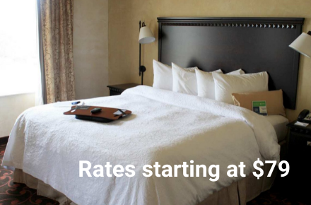 Hampton Inn North COVID Rate