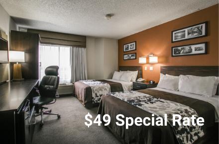 Sleep Inn COVID Special Rate