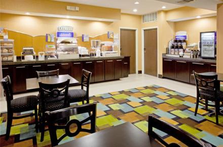 arlington texas hotel breakfast room