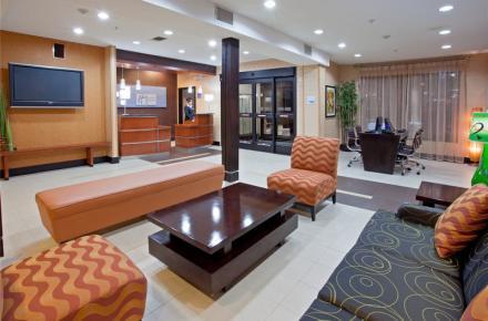 arlington texas hotel lobby