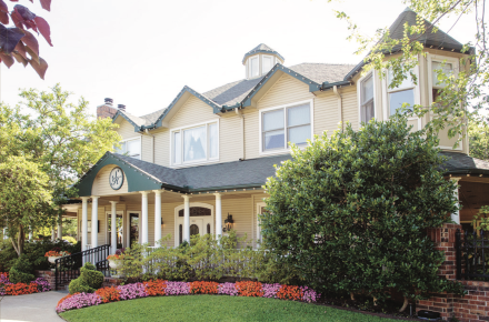 The Sanford House Inn & Spa | Arlington, TX Bed & Breakfast