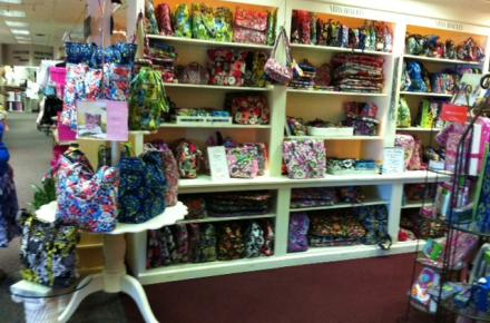 We have the largest selection of Vera Bradley in Arlington!