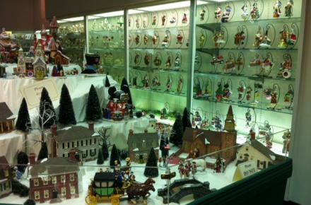 We're a collector's paradise carrying Dept. 56, Radko, Jim Shore, Precious Moments, Willowtree, etc.