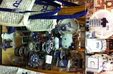 We have great collegiate gifts from universities like TCU, Baylor, A&M, Texas, Tech and UTA!