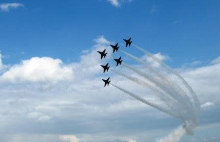 U.S. Navy Blue Angels will Headline the 2012 Florida International Air Show March 24 - 25 in Punta Gorda, Fla.
