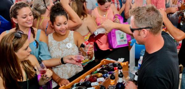 Finger Lakes Wine Festival Wine Pour