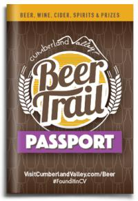 Cumberland Valley Beer Trail Passport Cover