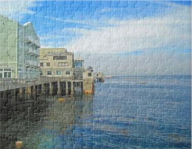 Cannery Row Monterey County CA Puzzle