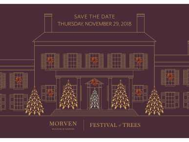 Festival of Trees Save the Date flyer