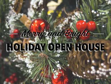 Merry and Bright Open House at Crossing Vineyards & Winery