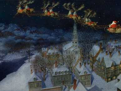 The Night before Christmas with Gennady Spirin Artwork for PJ Storytime