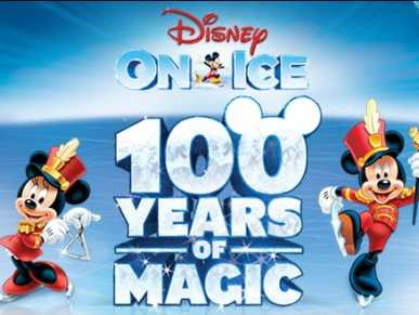 Disney on Ice 100 Years of Magic logo