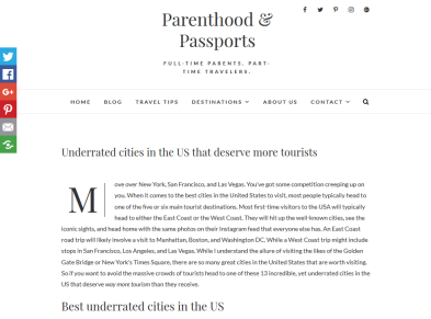Parenthood & Passports