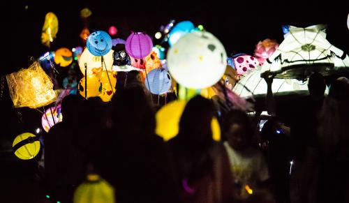 Sandy Springs Lantern Parade