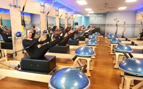 Club Pilates - Working Out