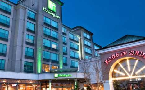 Holiday Inn YVR Airport Exterior