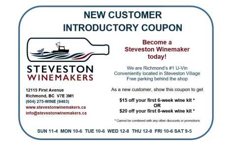 New Customer Introductory Coupon