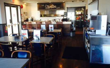 Steveston Cafe Interior