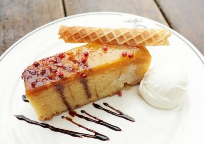 Recipe Salty's Upside-Down Pineapple Cake