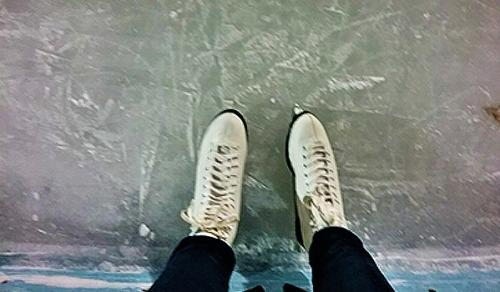 Ice Skates - Katharine Stob