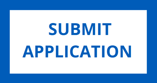 Blue Box with text that reads Submit Application