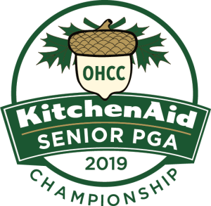 Logofor the KitchenAid Senior PGA Championship at Oak Hill in Rochester, NY