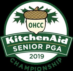 Logofor the KitchenAid Senior PGA Championship at Oak Hill in Rochester, NY