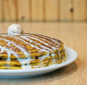 Sunny Street Cafe Pumpkin pancakes