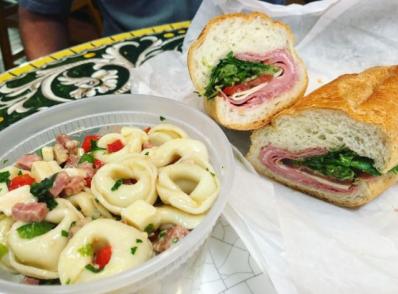 E 48 Sandwich and Tortellini
