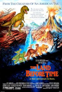 Land Before Time PAC movie poster