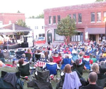 Summer Sounds on the Square is always a fun time, and it will feature Cornfield Mafia on Saturday night.