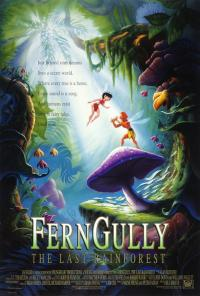 fern gully PAC movie poster