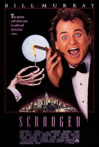 scrooged PAC movie poster