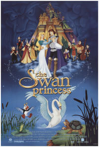 swan princess PAC movie poster