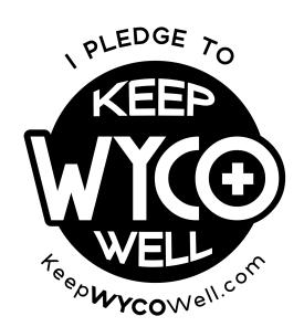 I Pledge to Keep WYCO Well B&W