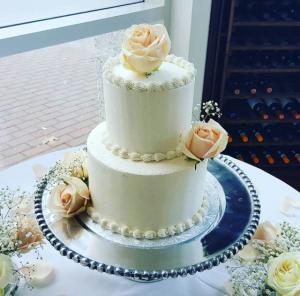 JP's Pastry Gluten-Free Wedding Cake in Benson, NC.