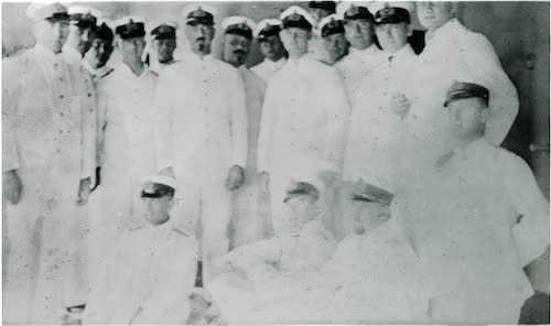 SMS Cormoran Crew