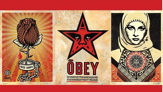 In Conversation with Shepard Fairey: Three Decades of Dissent banner