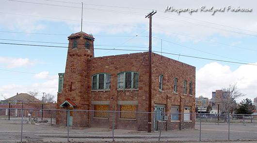 Albuquerue Railyard Firehouse