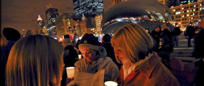 Copy of Caroling at Cloud Gate