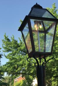Main Street Gas Lamp