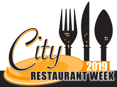 City Restaurant Week Logo 2019